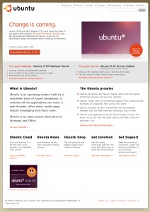 ubuntu10.04がリリース